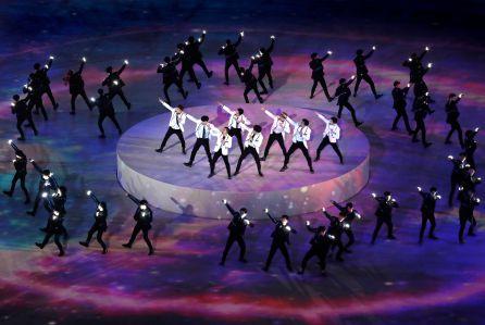 Closing Ceremony - PyeongChang 2018 Olympic Games, Daegwallyeong-Myeon, Korea - 25 Feb 2018